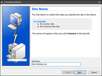 How to connect with FTP using WS_FTP Pro – Support